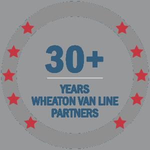 30+ years wheaton van line partner